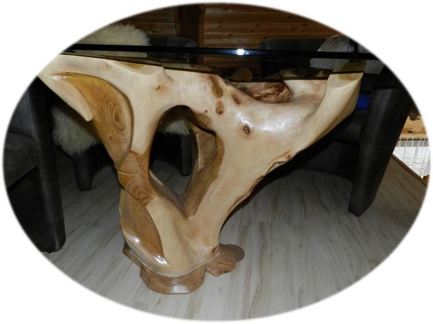 Projekte parent unikate aus holz for Holztisch mit glasplatte