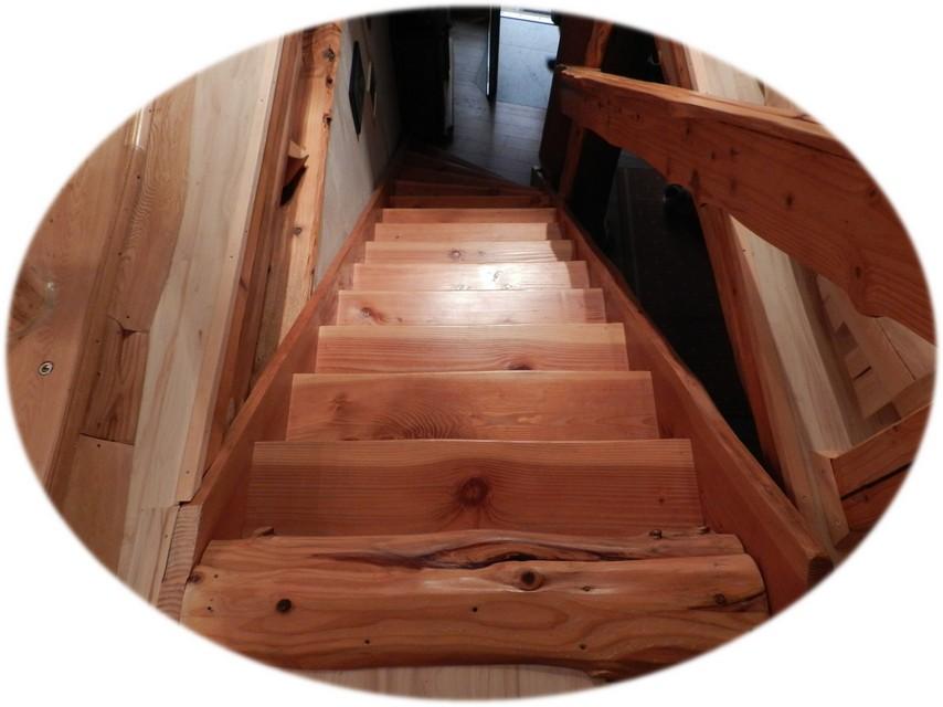 treppen und gel nder unikate aus holz. Black Bedroom Furniture Sets. Home Design Ideas